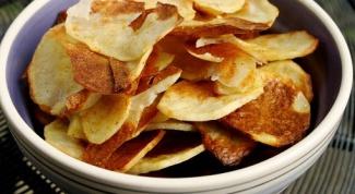 Как приготовить чипсы в духовке