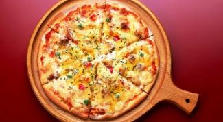 Готовим пиццу с болгарским перцем