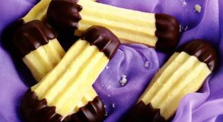 Как приготовить рассыпчатое печенье с шоколадом