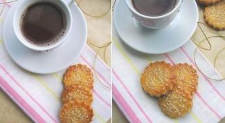 Как приготовить французский крекер с кунжутом
