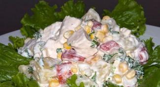 Как приготовить вкусный салат из курицы