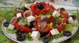 Как приготовить критский салат