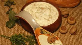 Грибной соус к картофелю