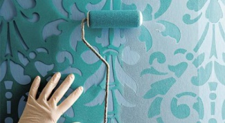 Как сделать трафарет для покраски стен