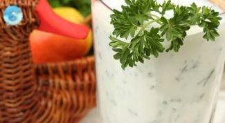 Как приготовить кефирный соус