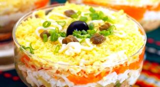 Как приготовить салат с рыбными консервами
