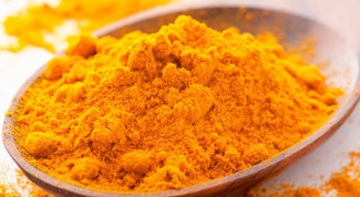 What can be treated with turmeric