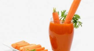 Как давать морковный сок ребенку