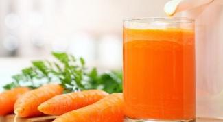 Как капать в нос морковный сок