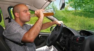 Когда садиться за руль после употребления алкоголя