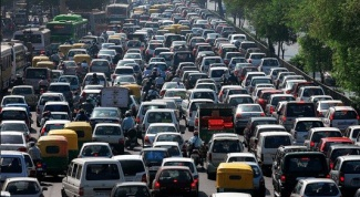 How not to get stuck in traffic jams in Moscow