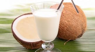 Что делать с кокосовым молочком