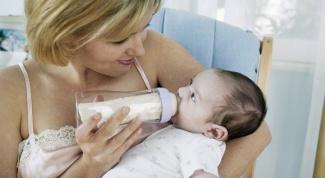 Как разводить молочную смесь