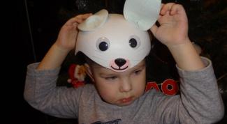 Как сделать маску кролика