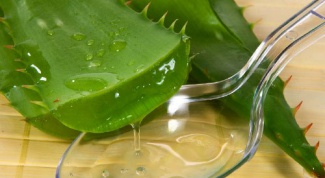 How cure sore throat aloe juice