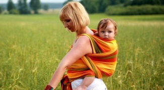 Sling-a scarf with your own hands: master class