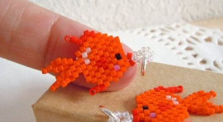 Как сделать рыбку из бисера