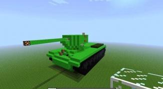 Как сделать танк в Майнкрафт