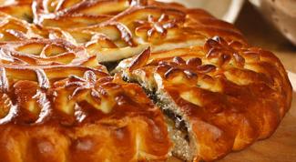 Чем намазать пирог, чтобы он был блестящим