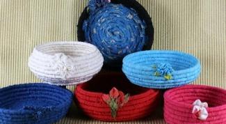 Как сделать пасхальную корзинку из ткани своими руками