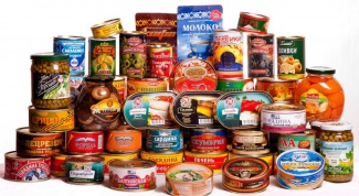 What is the maximum shelf life of canned food