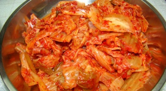 NAPA cabbage in Korean for thrill