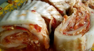Kimchi from Chinese cabbage: how to cook