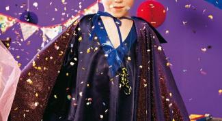 Как сделать новогодний костюм волшебника к Новому Году