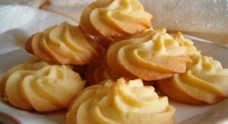 Как испечь маслянистое печенье