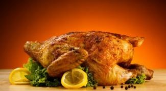 Как украсить запеченную курицу