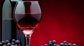How to withdraw stains from red wine