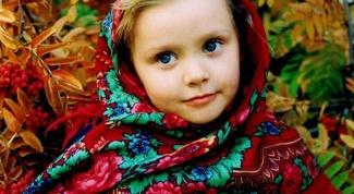 Как носить павлопосадский платок