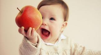 Как дать яблоко в прикорм