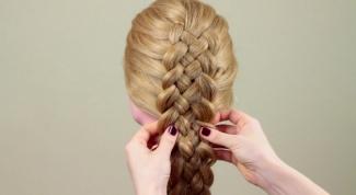 Как плести пятипрядную косу