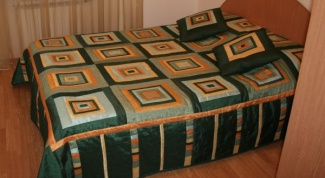 How to sew a bedspread on big bed