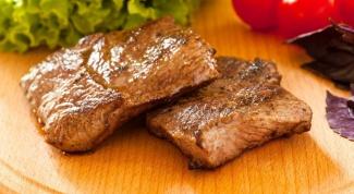 Как пожарить мясо на сухой сковороде