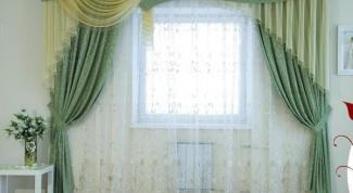 Как красиво оформить окно с помощью штор в 2018 году