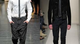 Как подобрать узкий галстук