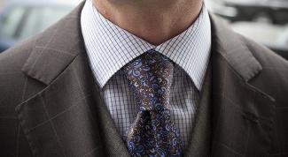 Как подобрать галстук под костюм