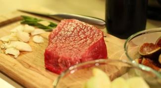 Как фаршировать кусок мяса