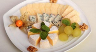 Сырная тарелка - оформление по правилам