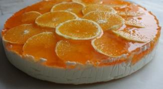 Как зажелировать фрукты на торте