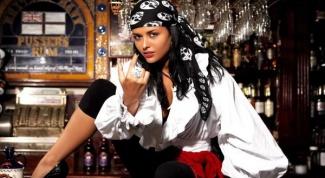 Как сделать костюм пиратки