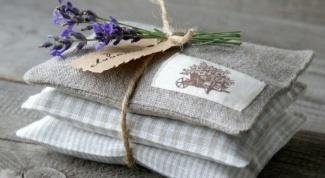 Как сделать ароматные мешочки в шкаф для одежды