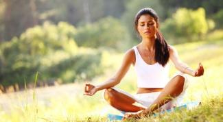 Медитация как успокаивающее средство