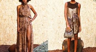 Как сшить платье-трапецию быстро