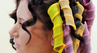 Какие бигуди более безопасны для волос