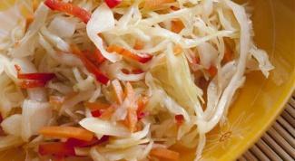 Квашеная капуста быстрого приготовления: необычные рецепты