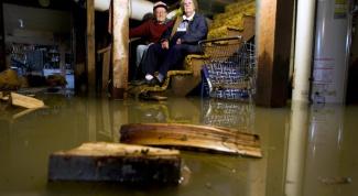 Что делать, если в подвале появилась вода