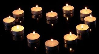 Как сделать сердце из свечей на День Валентина